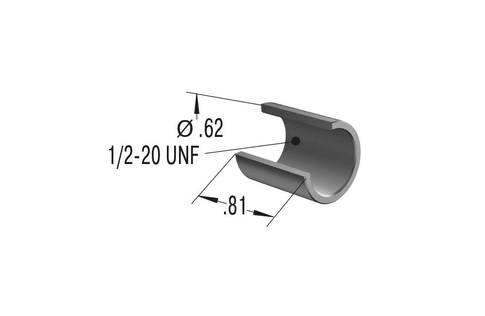 Ace mc75m3 Amortisseur kleinstossdämpfer 10 mm Hub m10 MC 75 mâ³