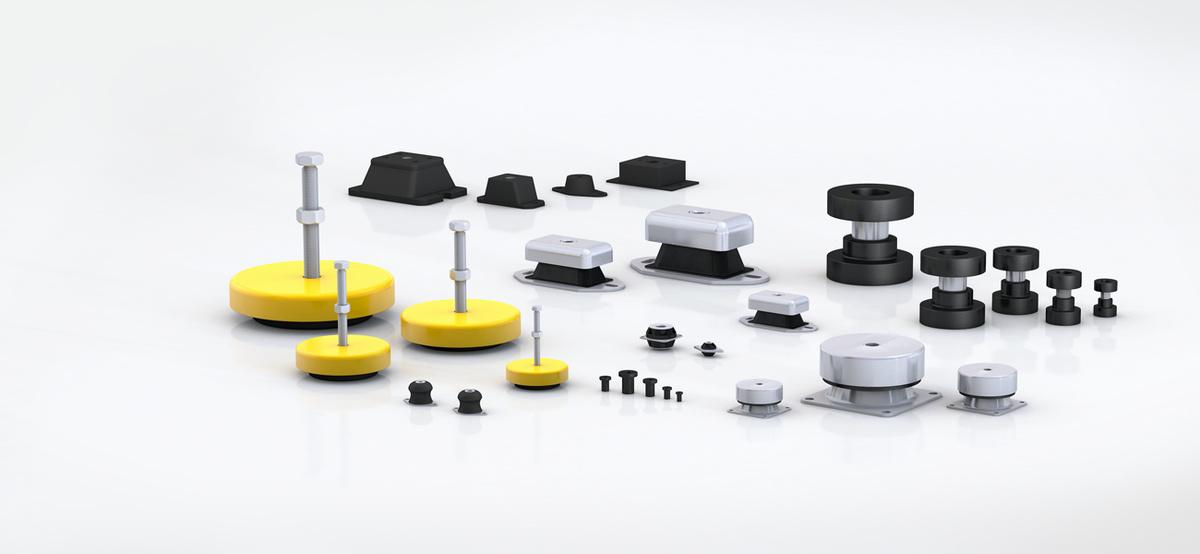 Rubber-Metal Isolators