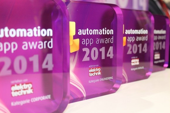 ACE wins automation app award 2014
