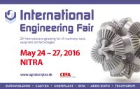 International Engineering Fair of machinery, tools, equipment and Technologies 2016