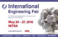 International Engineering Fair of machinery, tools, equipment and Technologies 2016