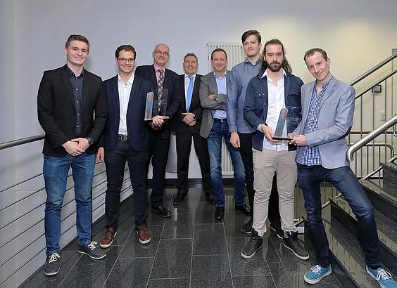INNOVACE 2018 Zwei Gewinnerteams