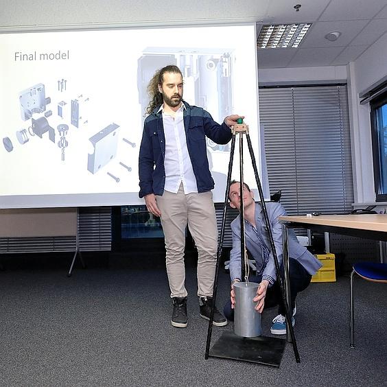 INNOVACE 2018 Gewinnerteam Venlo Demonstration